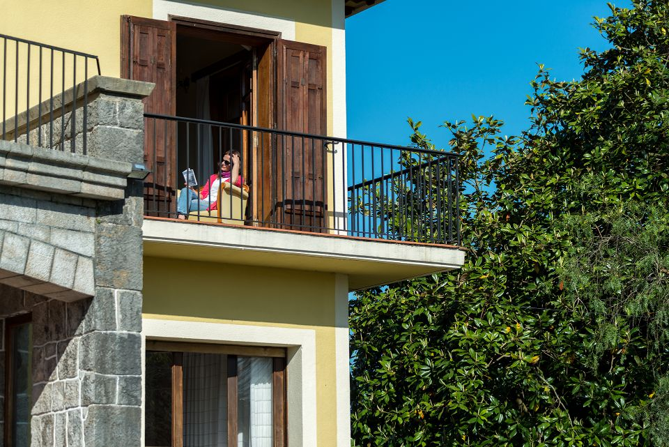 Balcón de una habitación